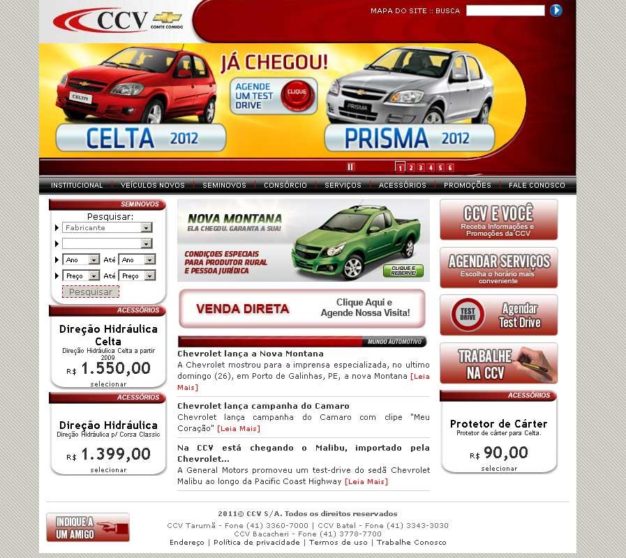 Desenvolvimento do Portal CCV