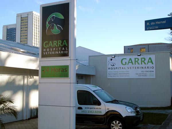 Identidade Visual Hospital Veterinário Garra
