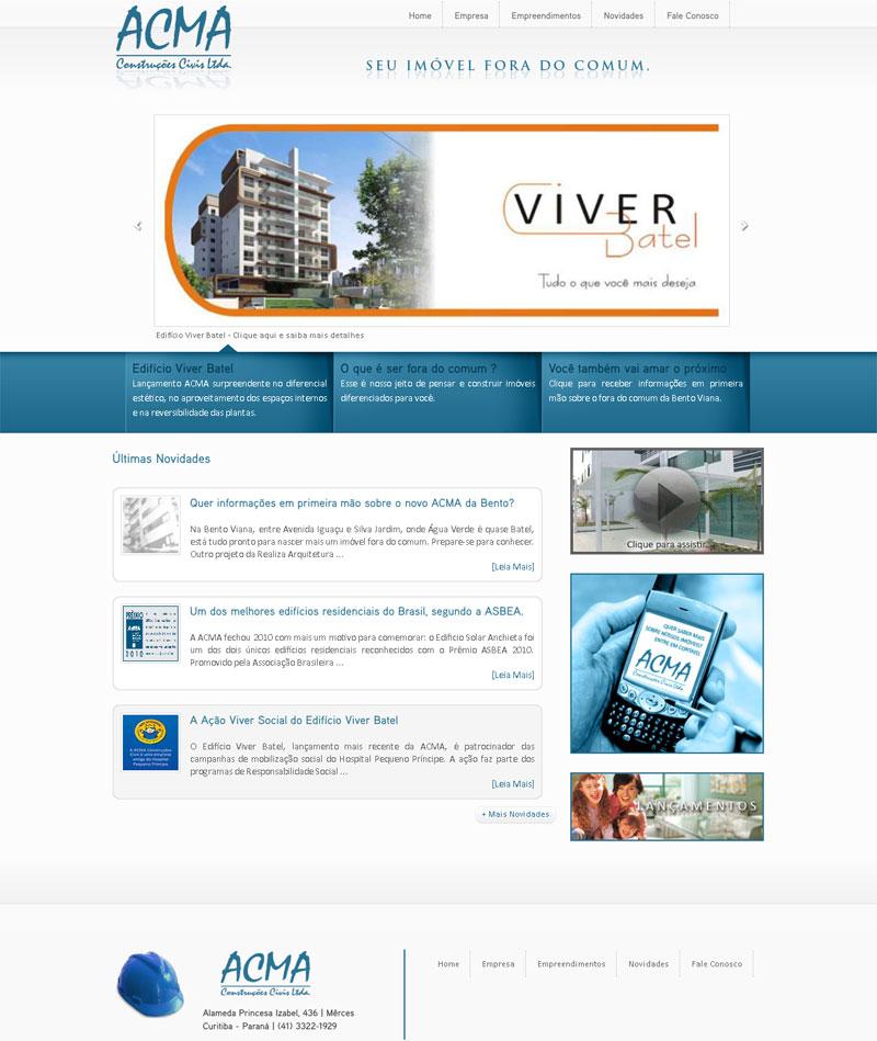 Home - ACMA Construções Civis Ltda