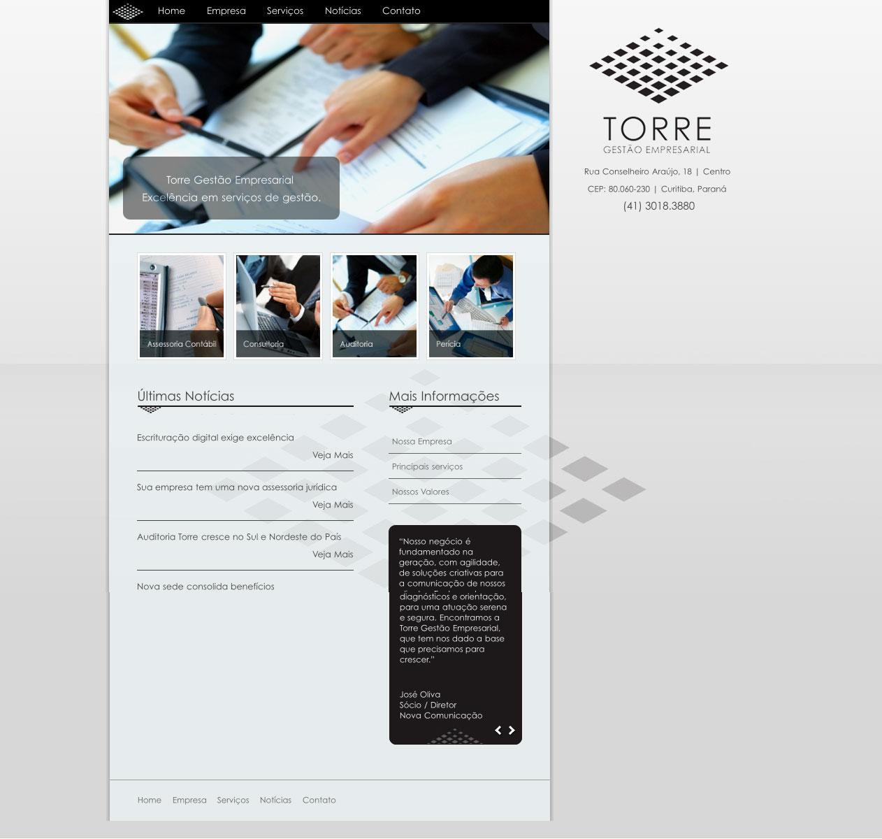Novo Site - Torre Gestão Empresarial