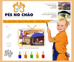 Novo Site – Escola Pés no Chão